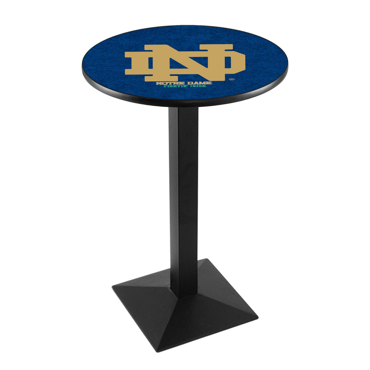 Impressive Notre Dame Nd Logo Pub Bar Table Square Stand Product Photo