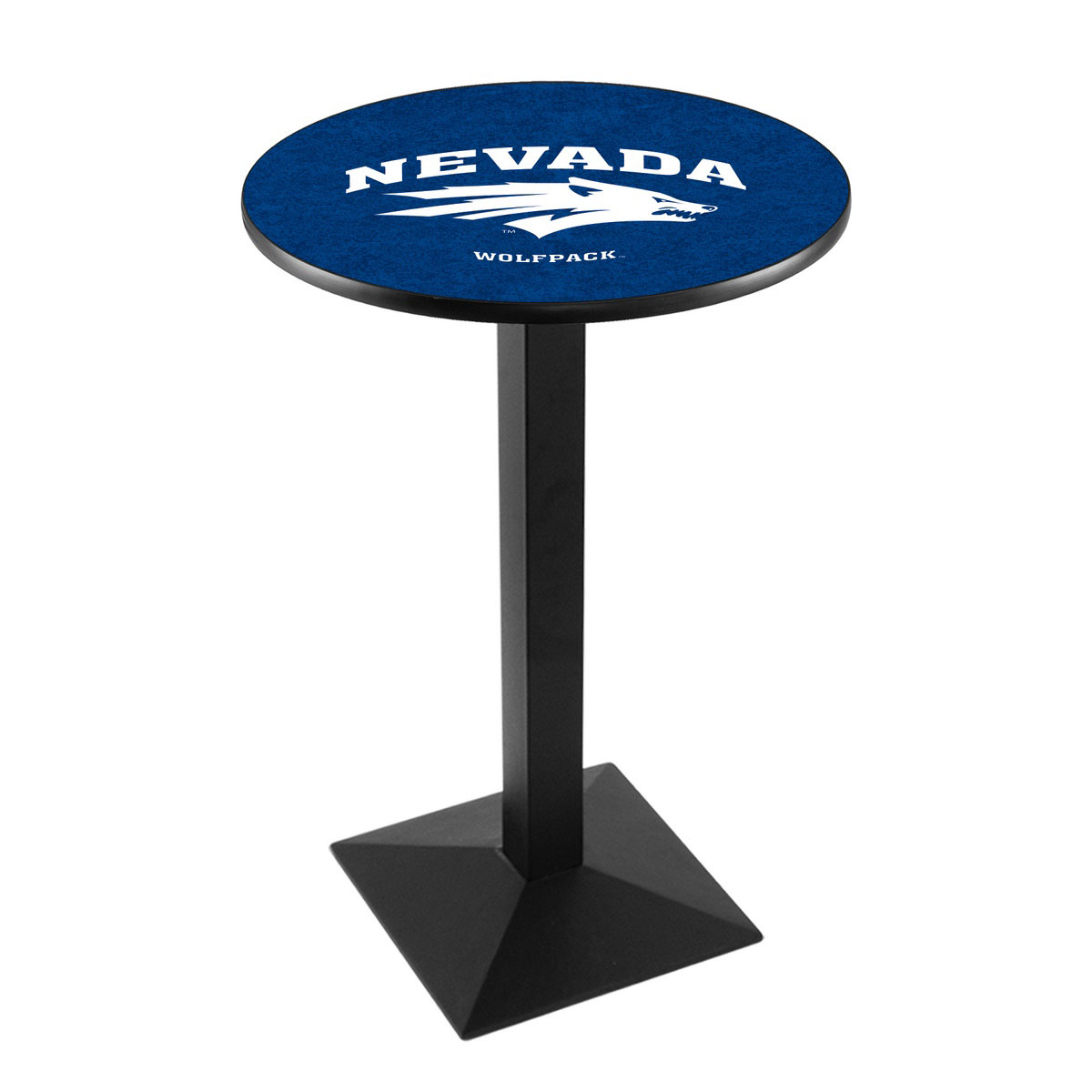 Remarkable University Nevada Logo Pub Bar Table Square Stand Product Photo