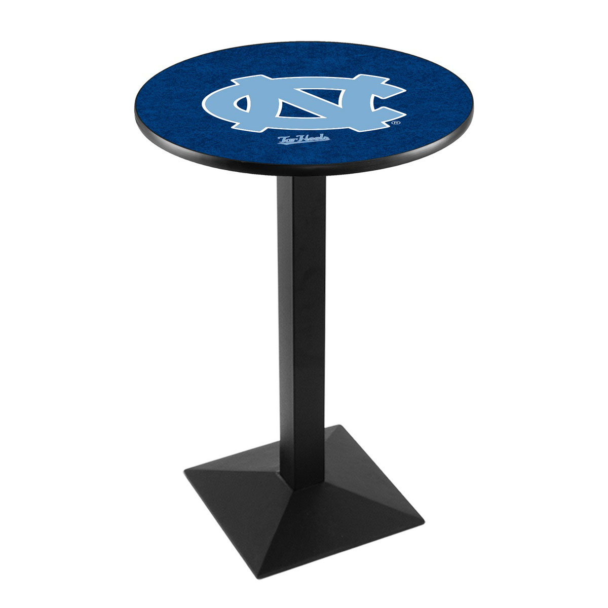 New University North Carolina Logo Pub Bar Table Square Stand Product Photo