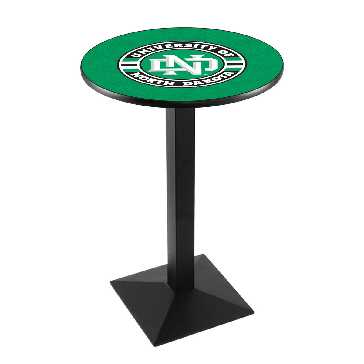 Outstanding University North Dakota Logo Pub Bar Table Square Stand Product Photo