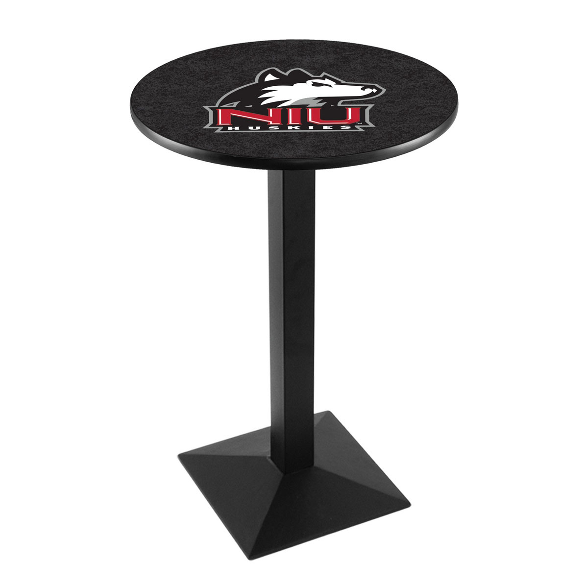 Excellent University Northern Illinois Logo Pub Bar Table Square Stand Product Photo