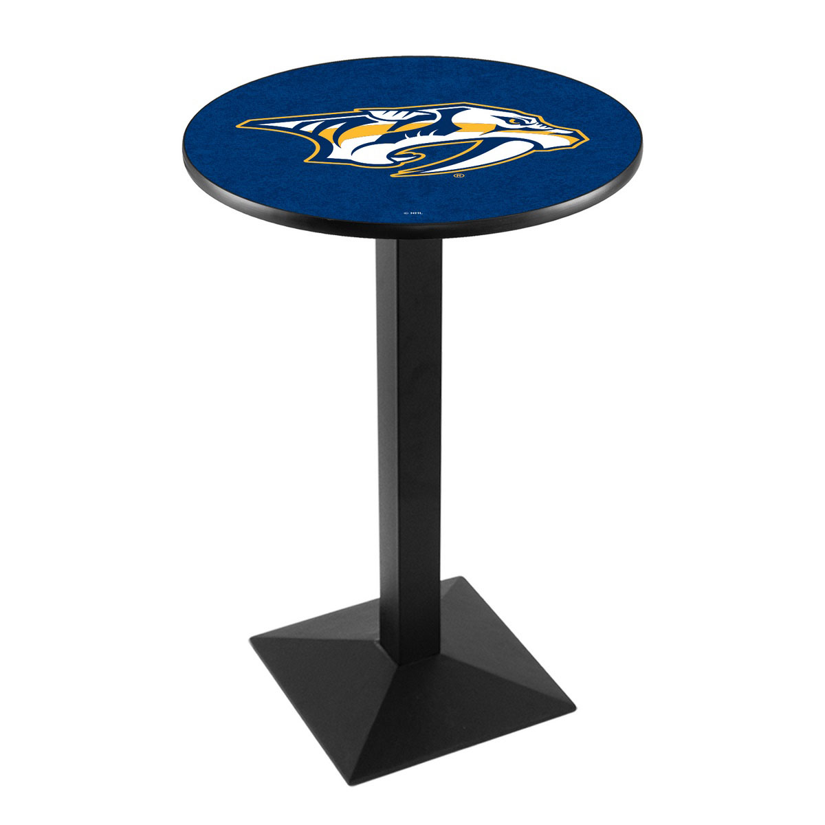 Valuable Nashville Predators Logo Pub Bar Table Square Stand Product Photo