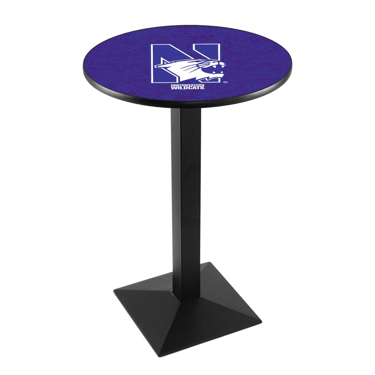 Popular Northwestern University Logo Pub Bar Table Square Stand Product Photo