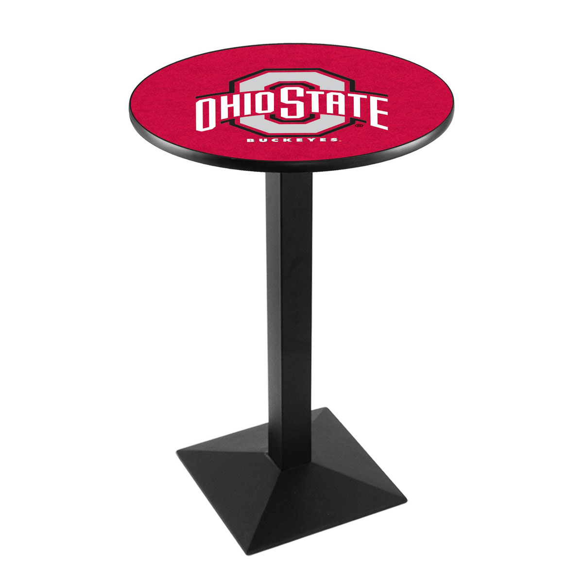Check out the Ohio State University Logo Pub Bar Table Square Stand Product Photo