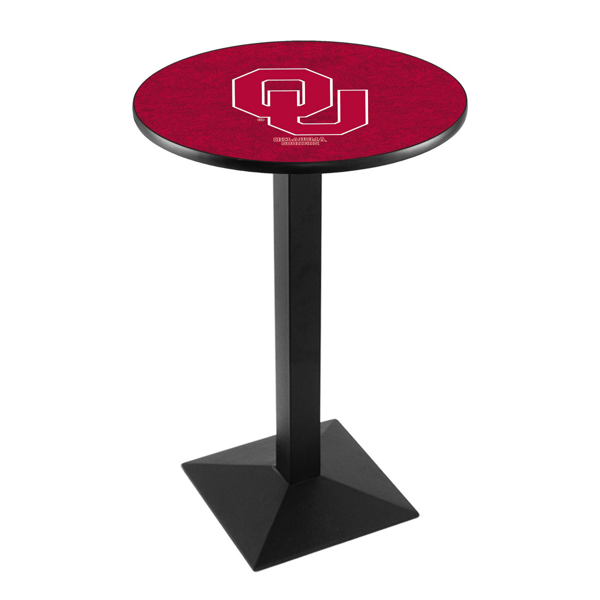 Optimal Oklahoma University Logo Pub Bar Table Square Stand Product Photo