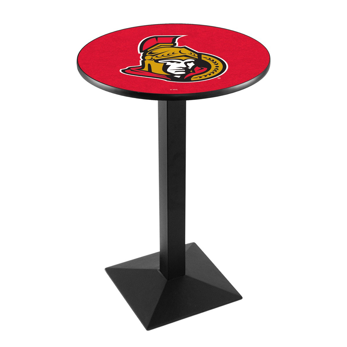 Splendid Ottawa Senators Logo Pub Bar Table Square Stand Product Photo