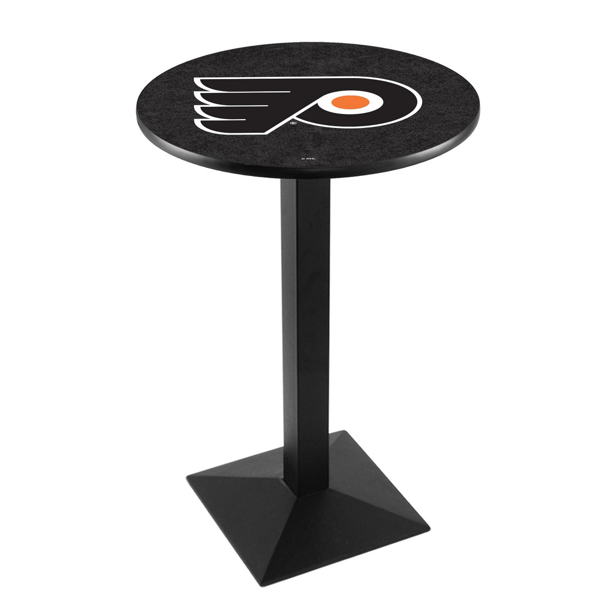 Valuable Philadelphia Flyers Background Logo Pub Bar Table Square Stand 17 1956