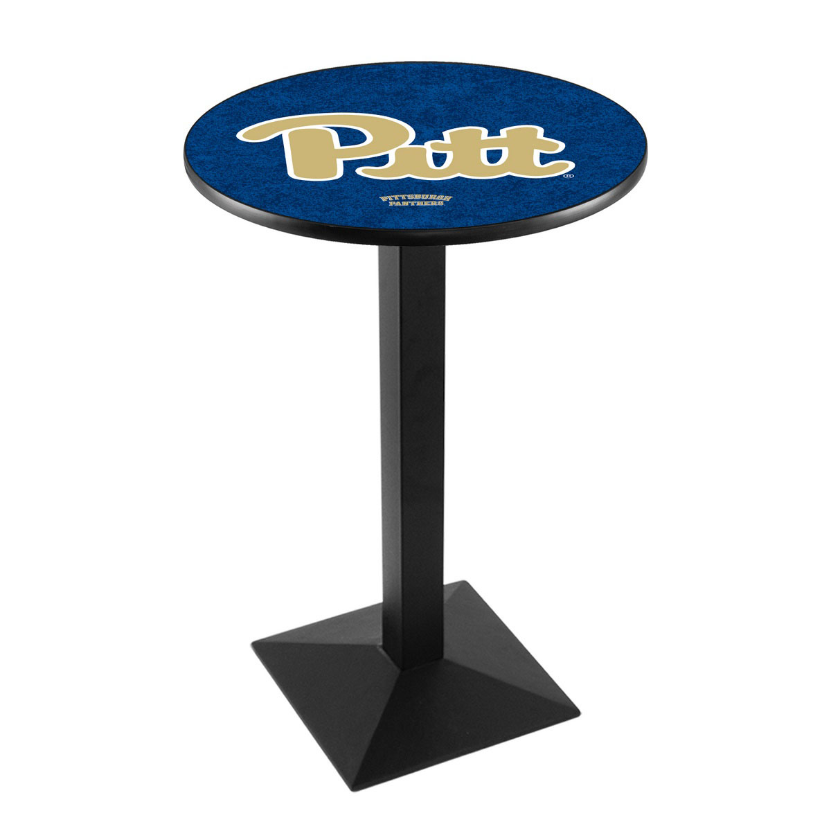 Popular University Pittsburgh Logo Pub Bar Table Square Stand 18 634
