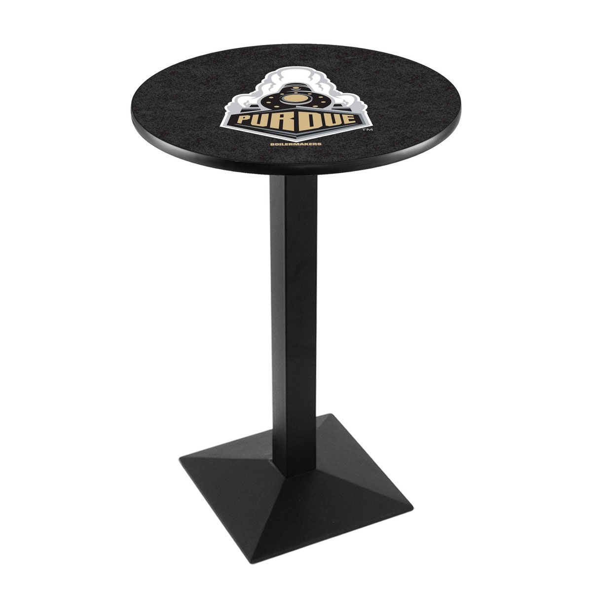 Purchase Purdue Logo Pub Bar Table Square Stand Product Photo