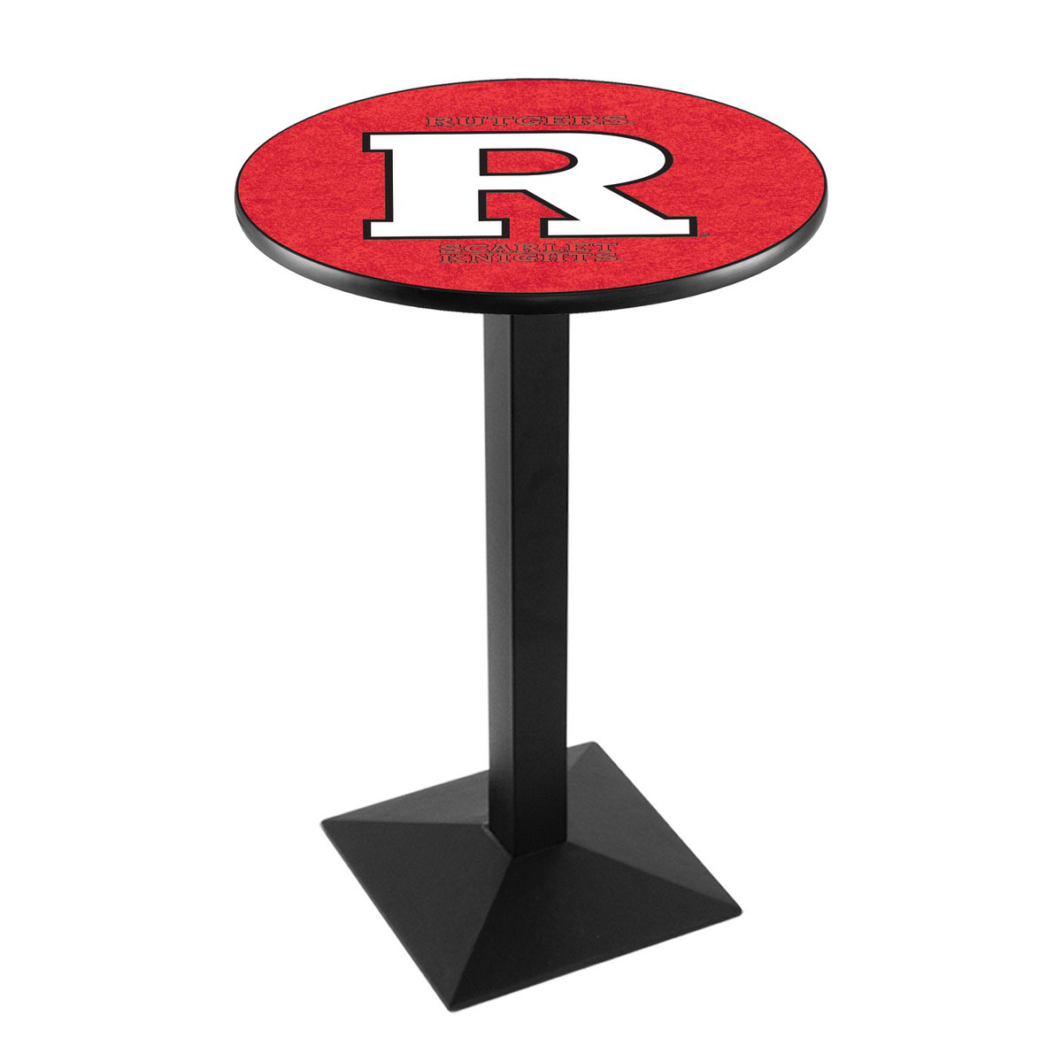 Buy Rutgers Logo Pub Bar Table Square Stand Product Photo