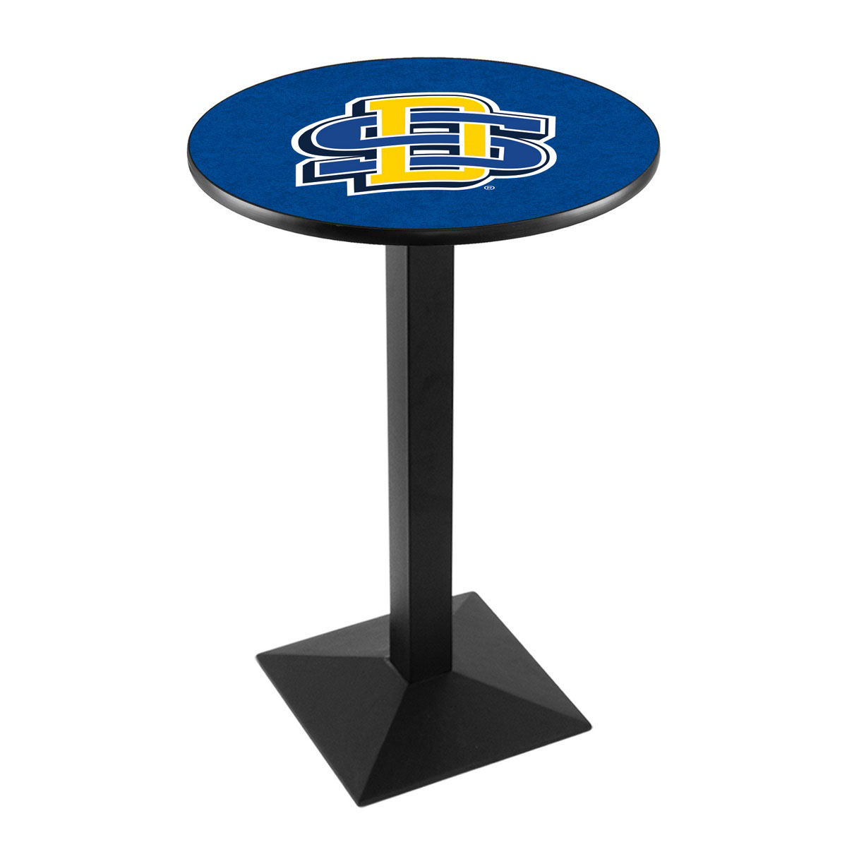 Select South Dakota State University Logo Pub Bar Table Square Stand Product Photo
