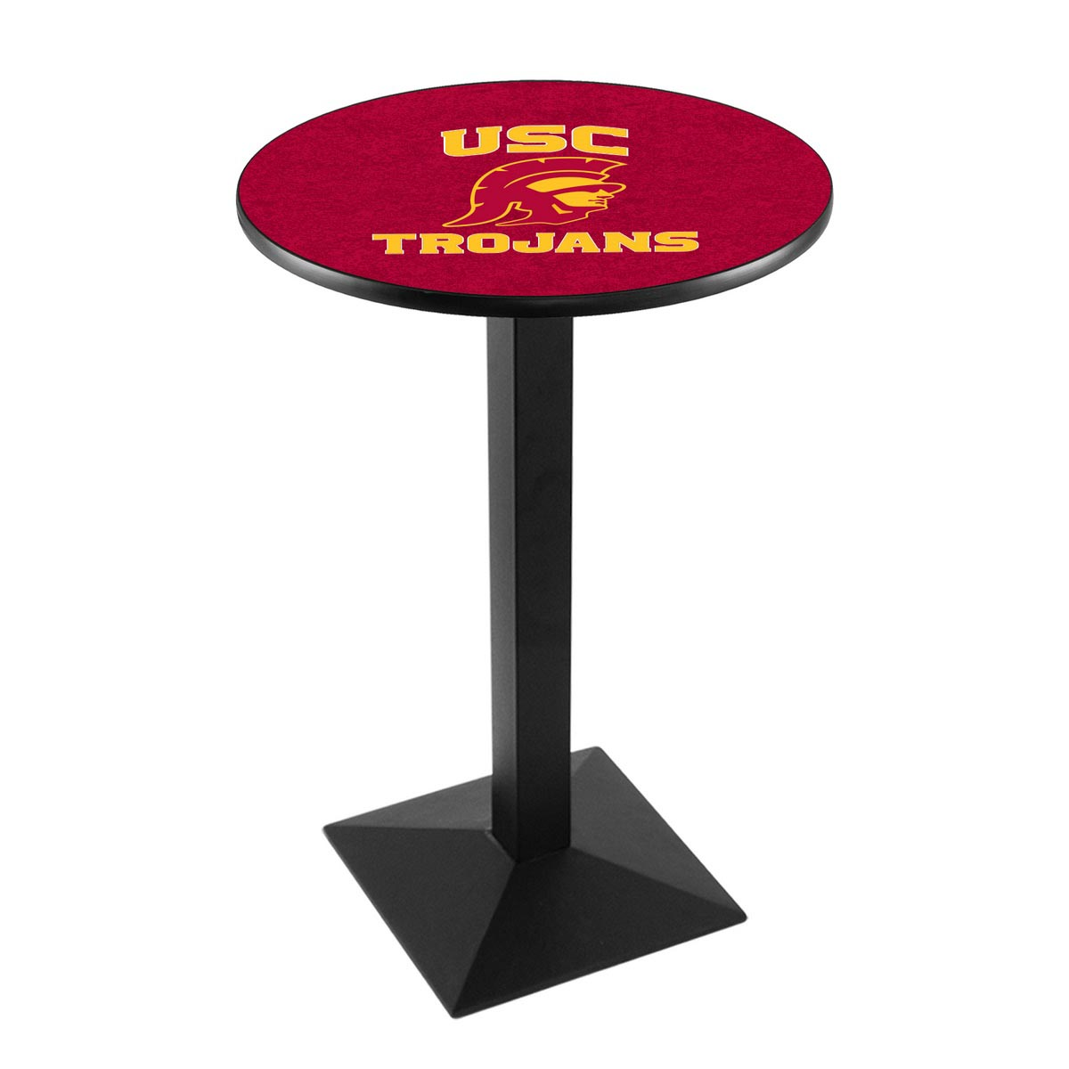 Search University Southern California Logo Pub Bar Table Square Stand Product Photo