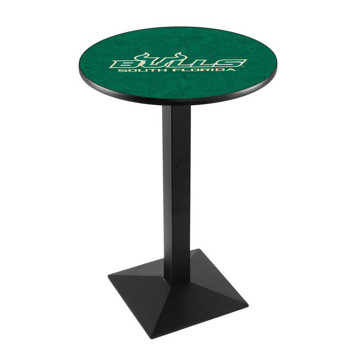 Information about University South Florida Logo Pub Bar Table Square Stand Product Photo