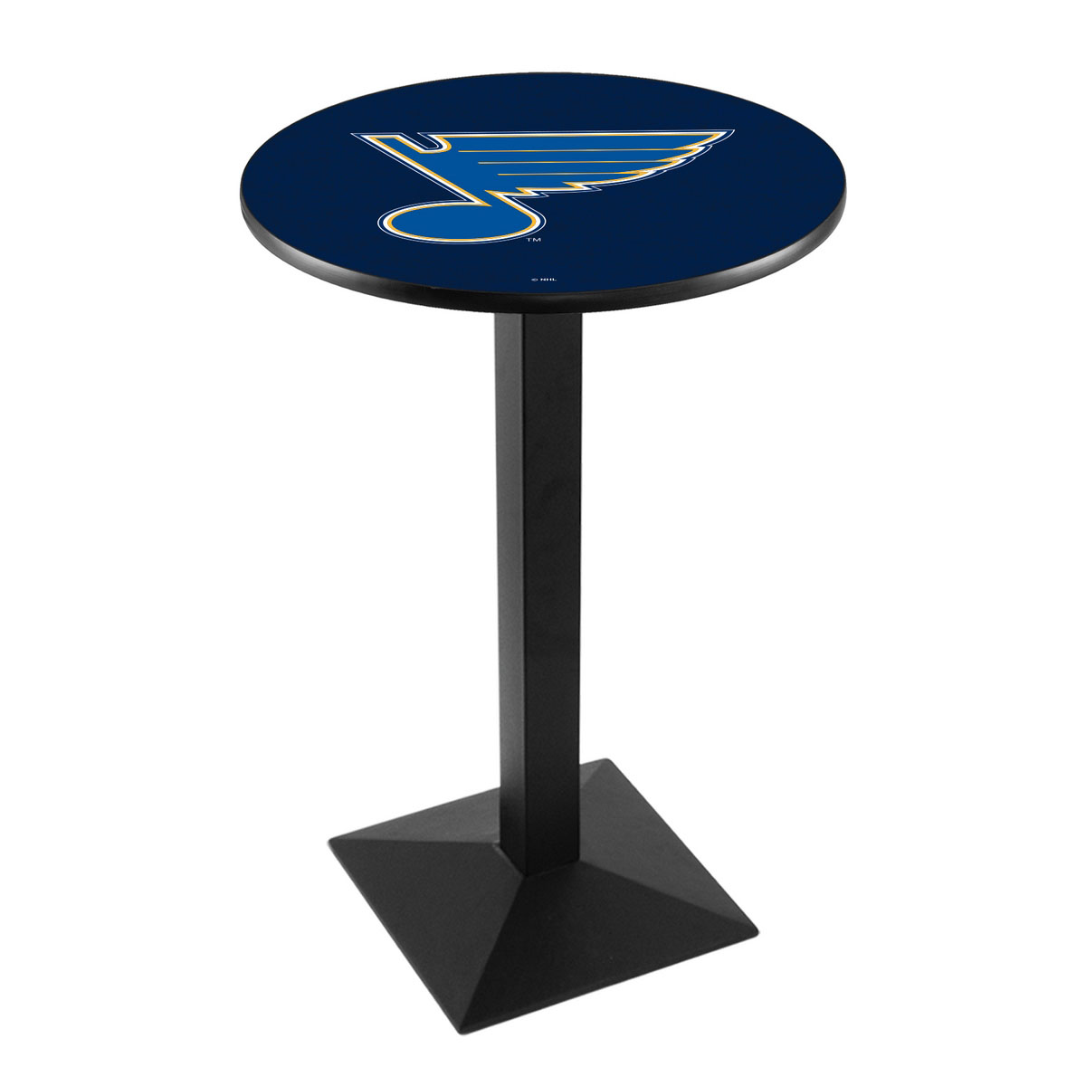 Unique St Louiss Logo Pub Bar Table Square Stand Product Photo