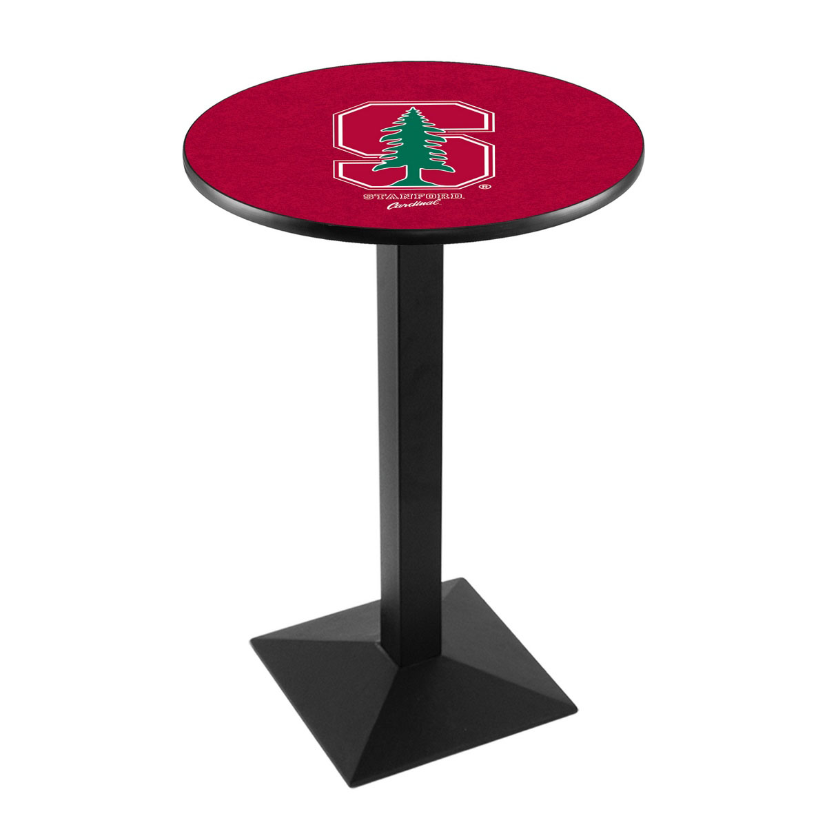 Ultimate Stanford University Logo Pub Bar Table Square Stand Product Photo
