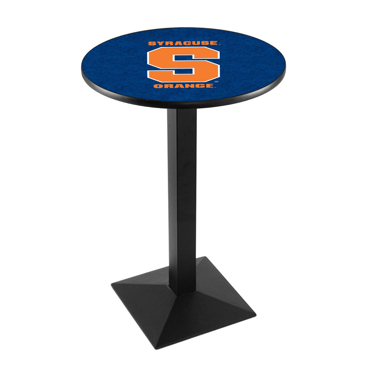Learn more about Syracuse University Logo Pub Bar Table Square Stand Product Photo