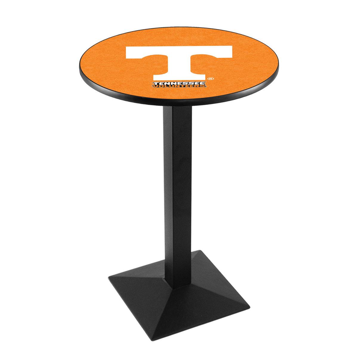 Stylish University Tennessee Logo Pub Bar Table Square Stand Product Photo