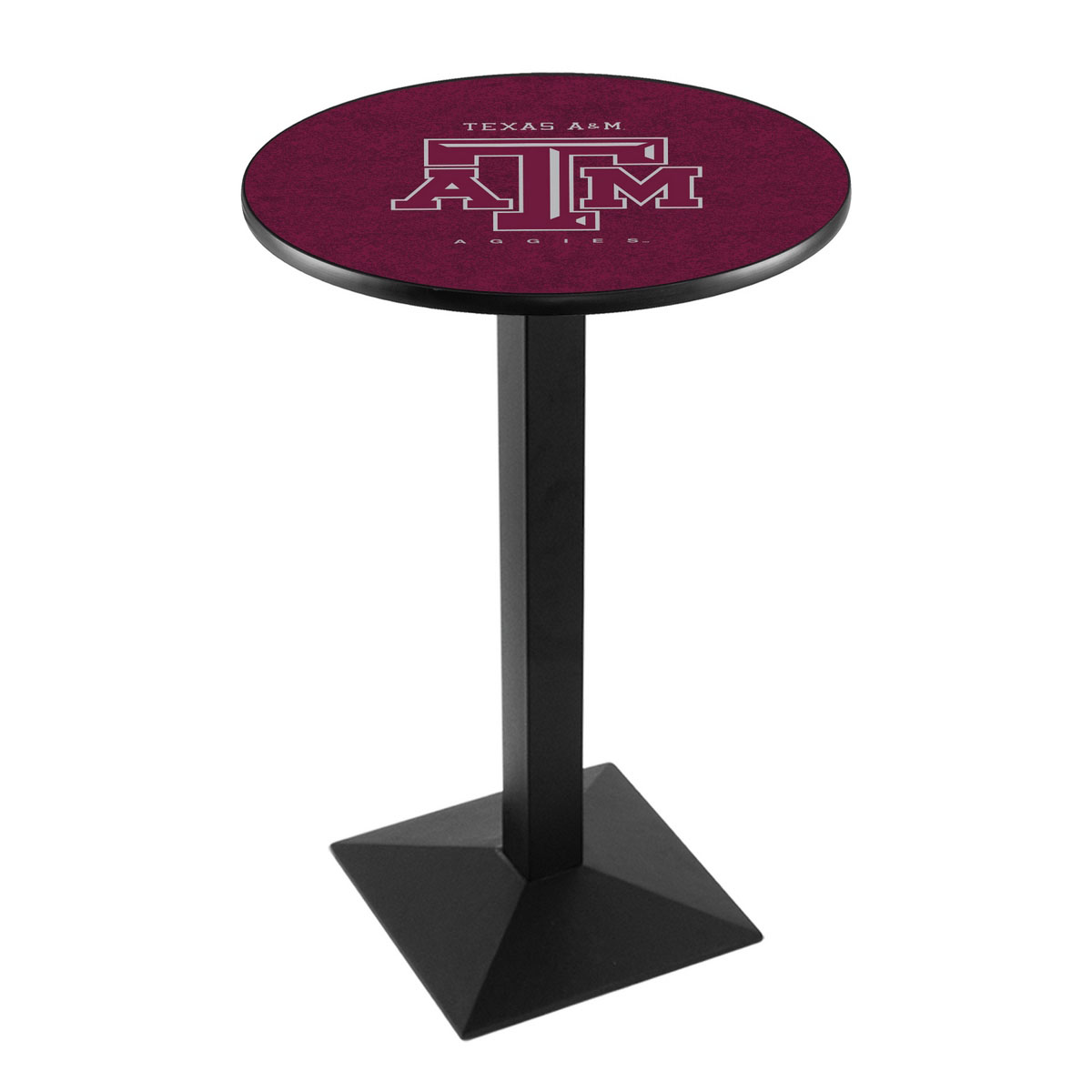 Stunning Texas A Logo Pub Bar Table Square Stand Product Photo