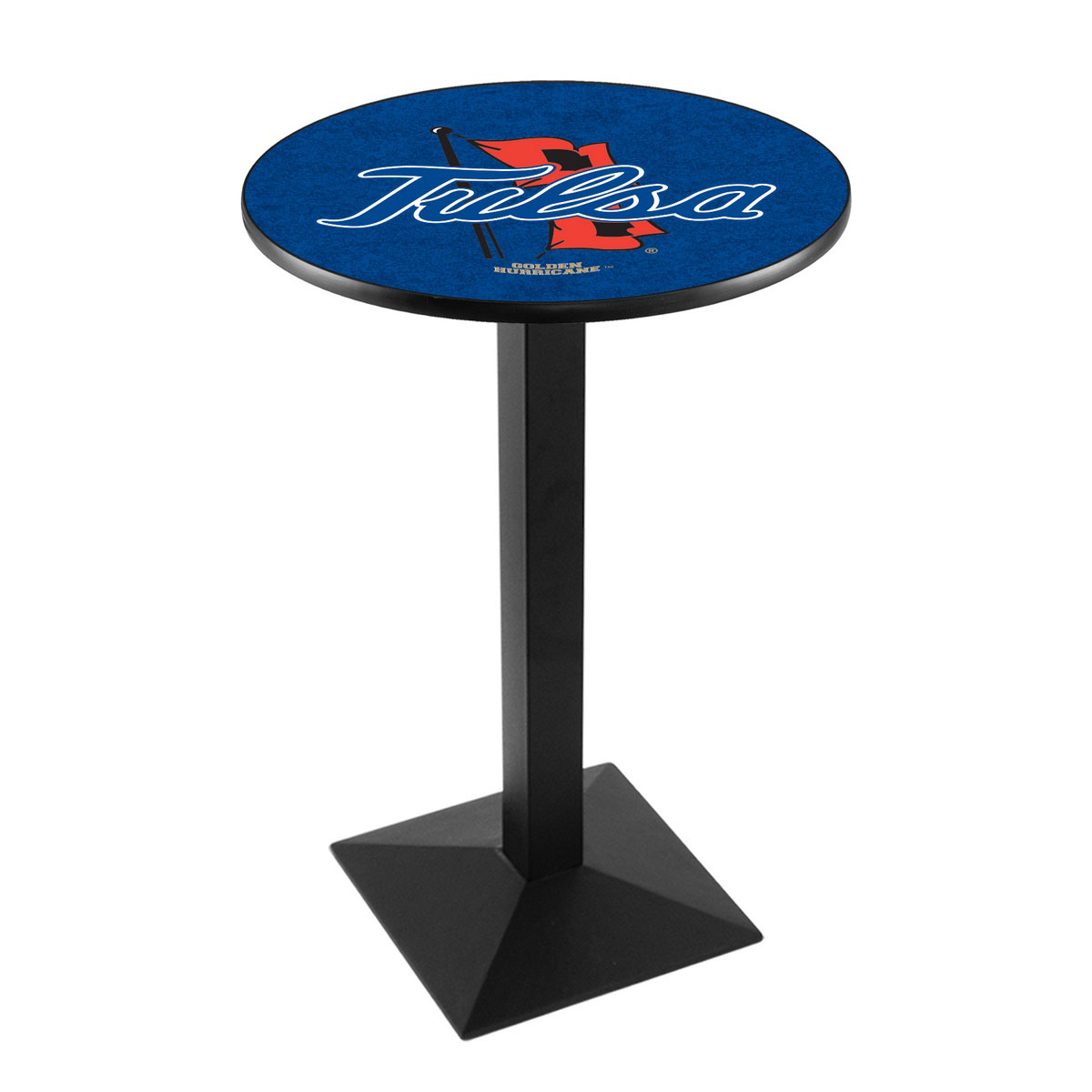 Affordable University Tulsa Logo Pub Bar Table Square Stand Product Photo