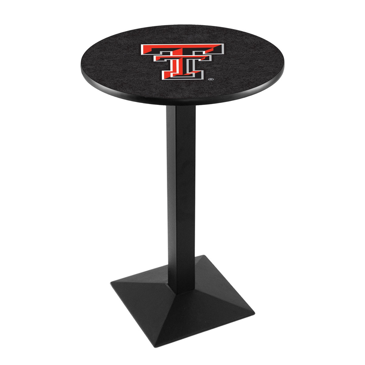 Lovable Texas Tech University Logo Pub Bar Table Square Stand Product Photo
