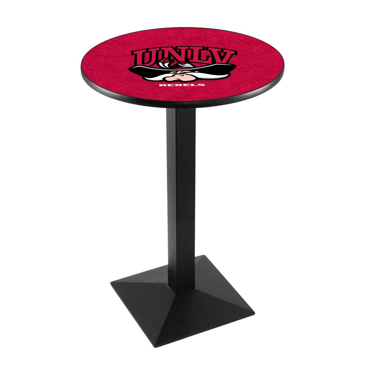 Special University Nevada Las Vegas Logo Pub Bar Table Square Stand Product Photo