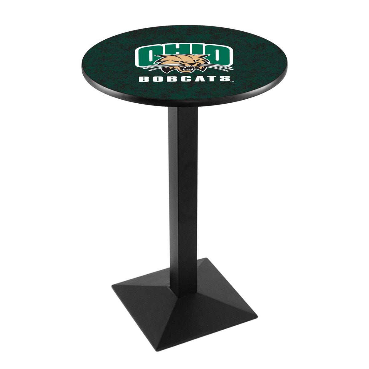 Serious Ohio University Logo Pub Bar Table Square Stand Product Photo