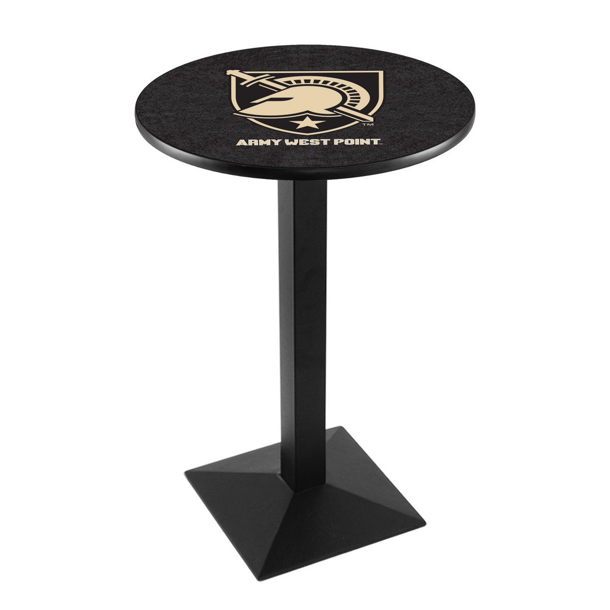 Impressive Us Military Academy Logo Pub Bar Table Square Stand Product Photo