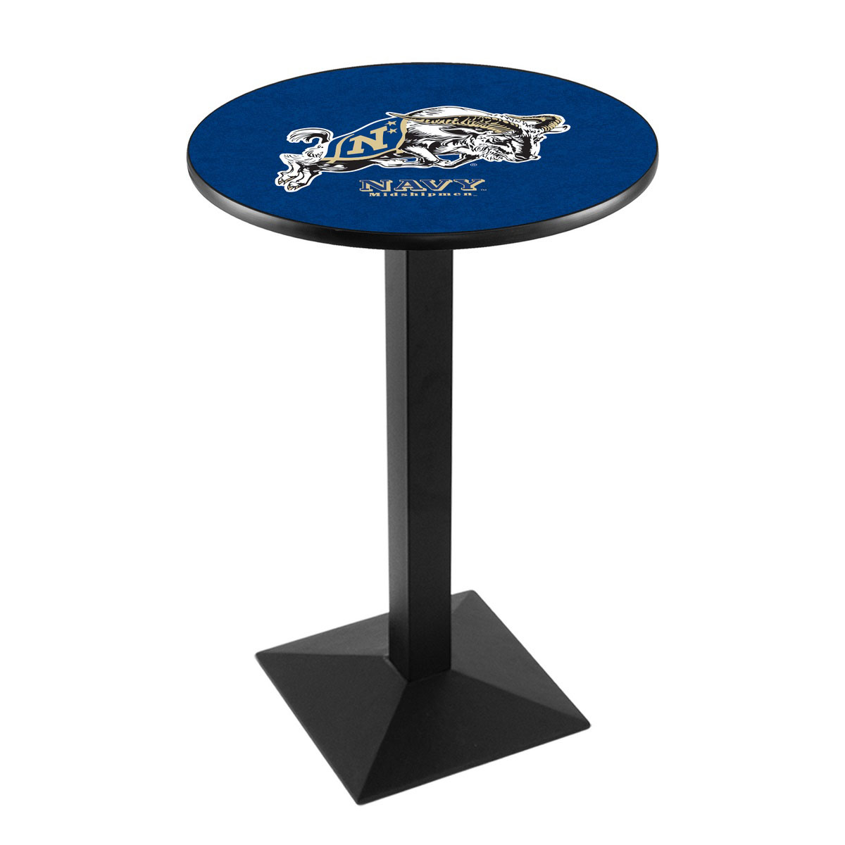 Money saving Us Naval Academy Logo Pub Bar Table Square Stand Product Photo