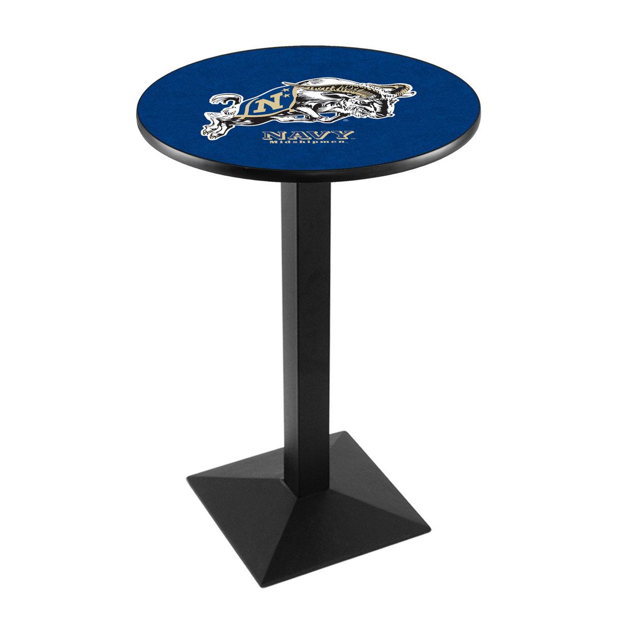Money saving Us Naval Academy Logo Pub Bar Table Square Stand Product Photo