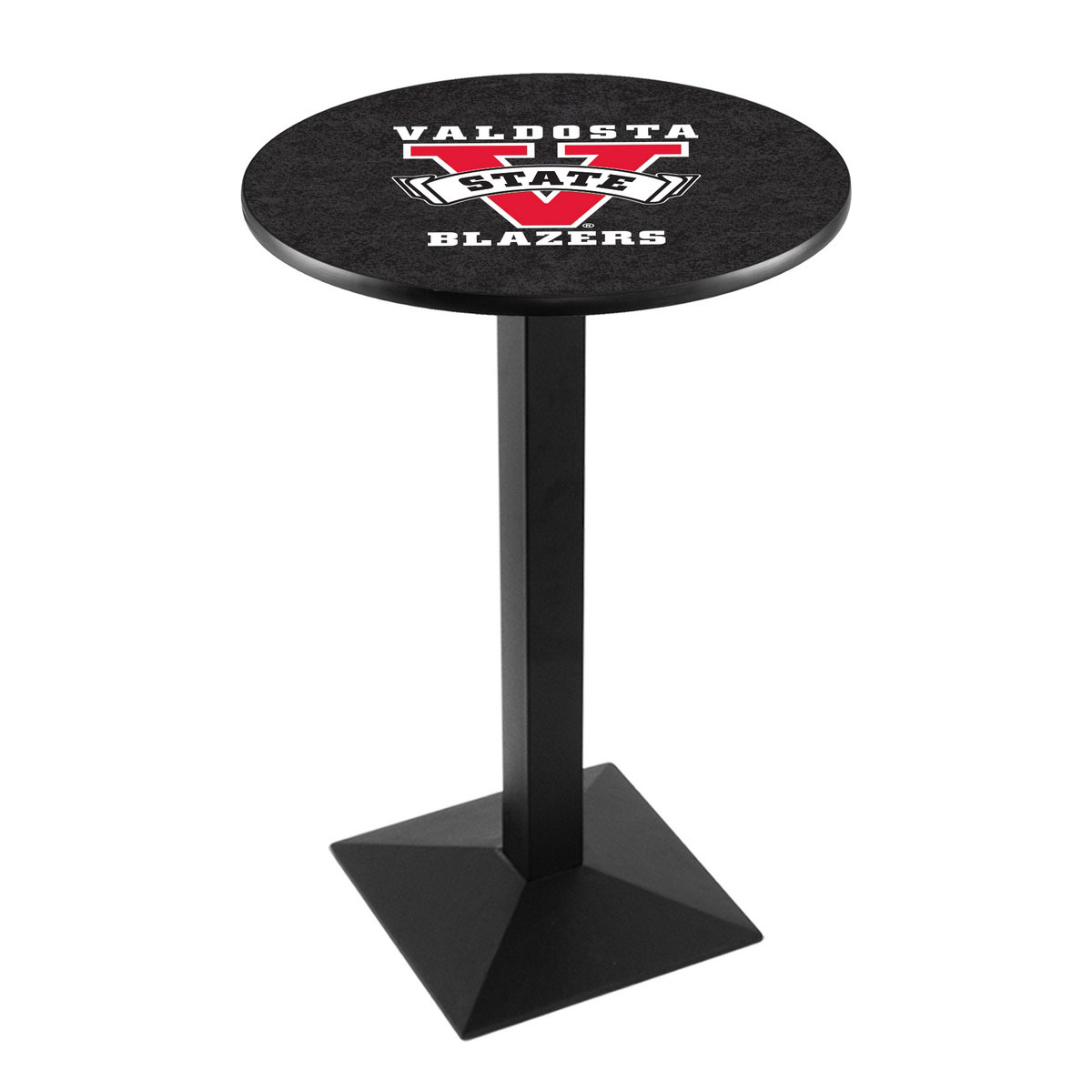 Reliable Valdosta State University Logo Pub Bar Table Square Stand Product Photo