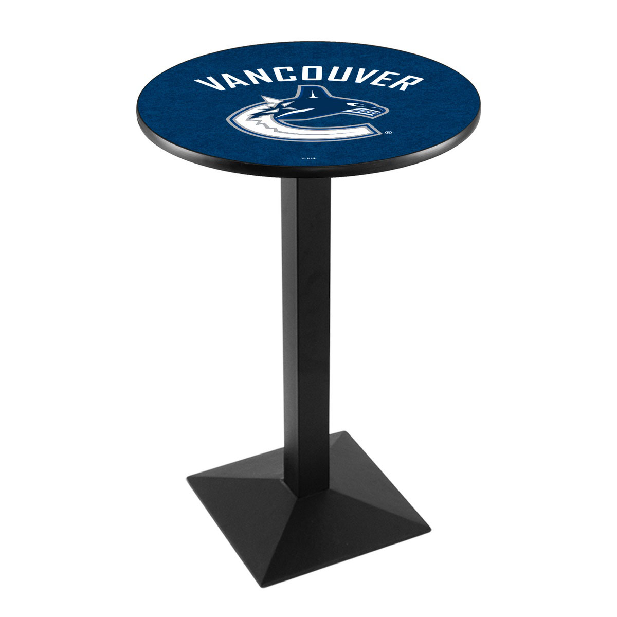 New Vancouver Canucks Logo Pub Bar Table Square Stand Product Photo