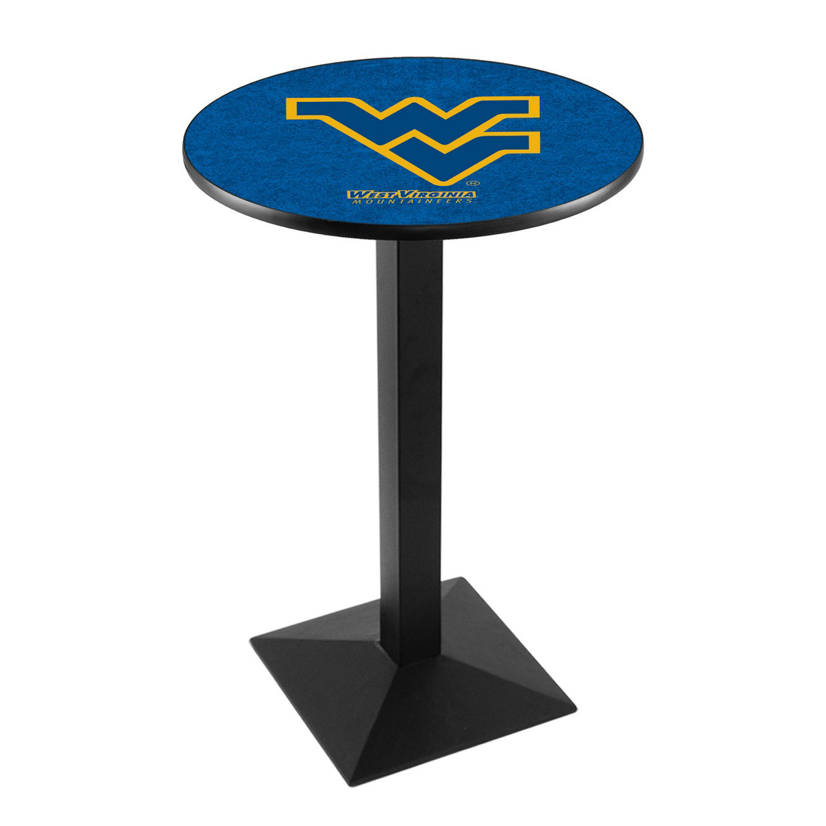 Choose West Virginia University Logo Pub Bar Table Square Stand 20 301