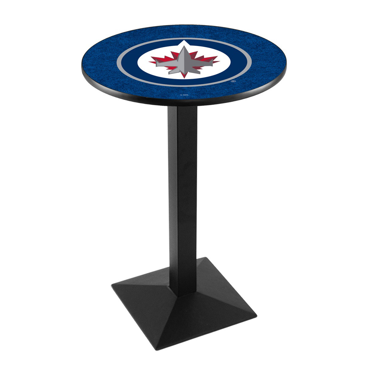 Beautiful Winnipeg Jets Logo Pub Bar Table Square Stand Product Photo