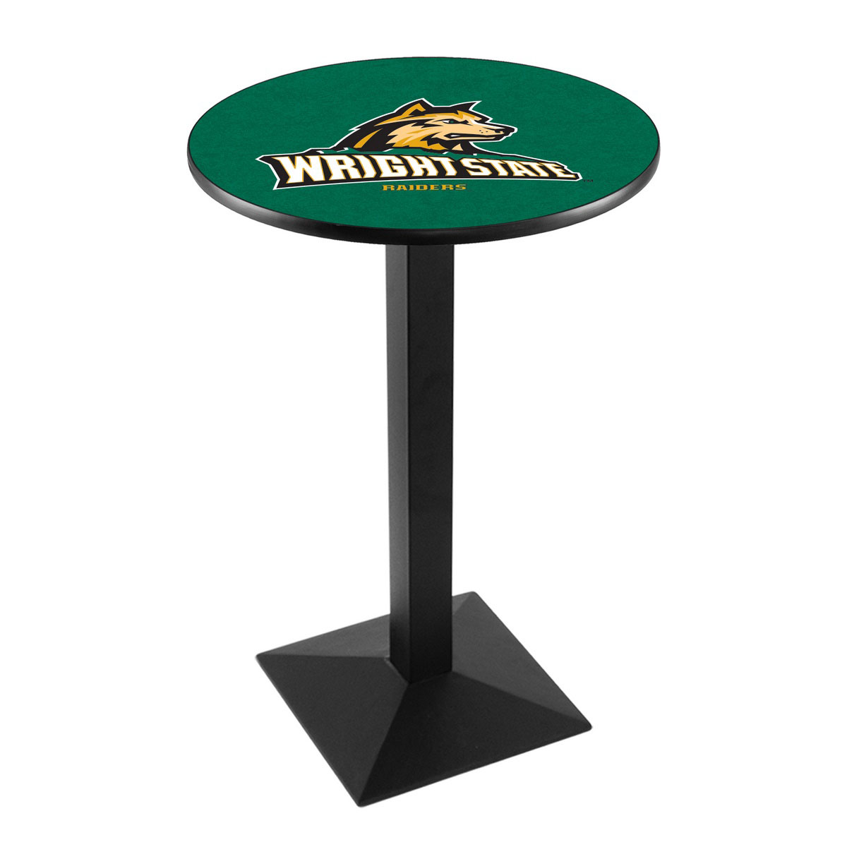 Wonderful Wright State University Logo Pub Bar Table Square Stand Product Photo