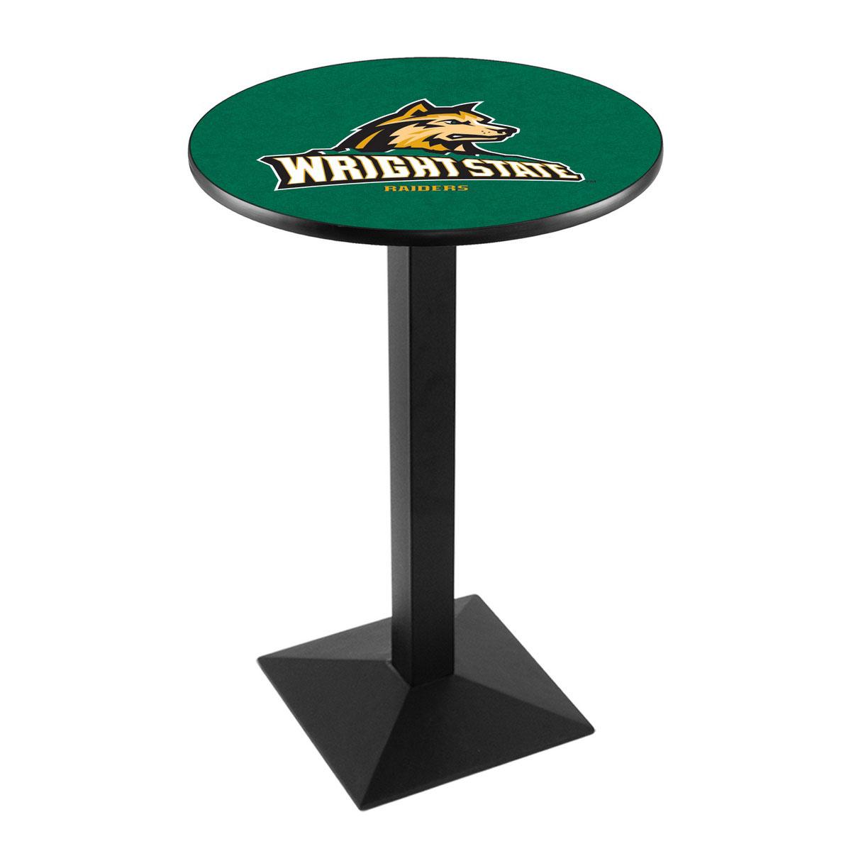 Wonderful Wright State University Logo Pub Bar Table Square Stand Product Photo