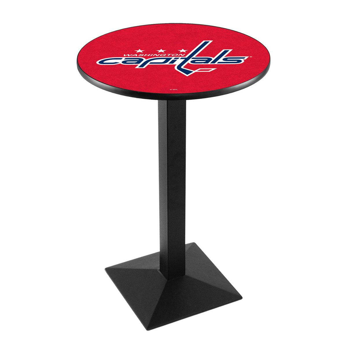 Pretty Washington Capitals Logo Pub Bar Table Square Stand Product Photo