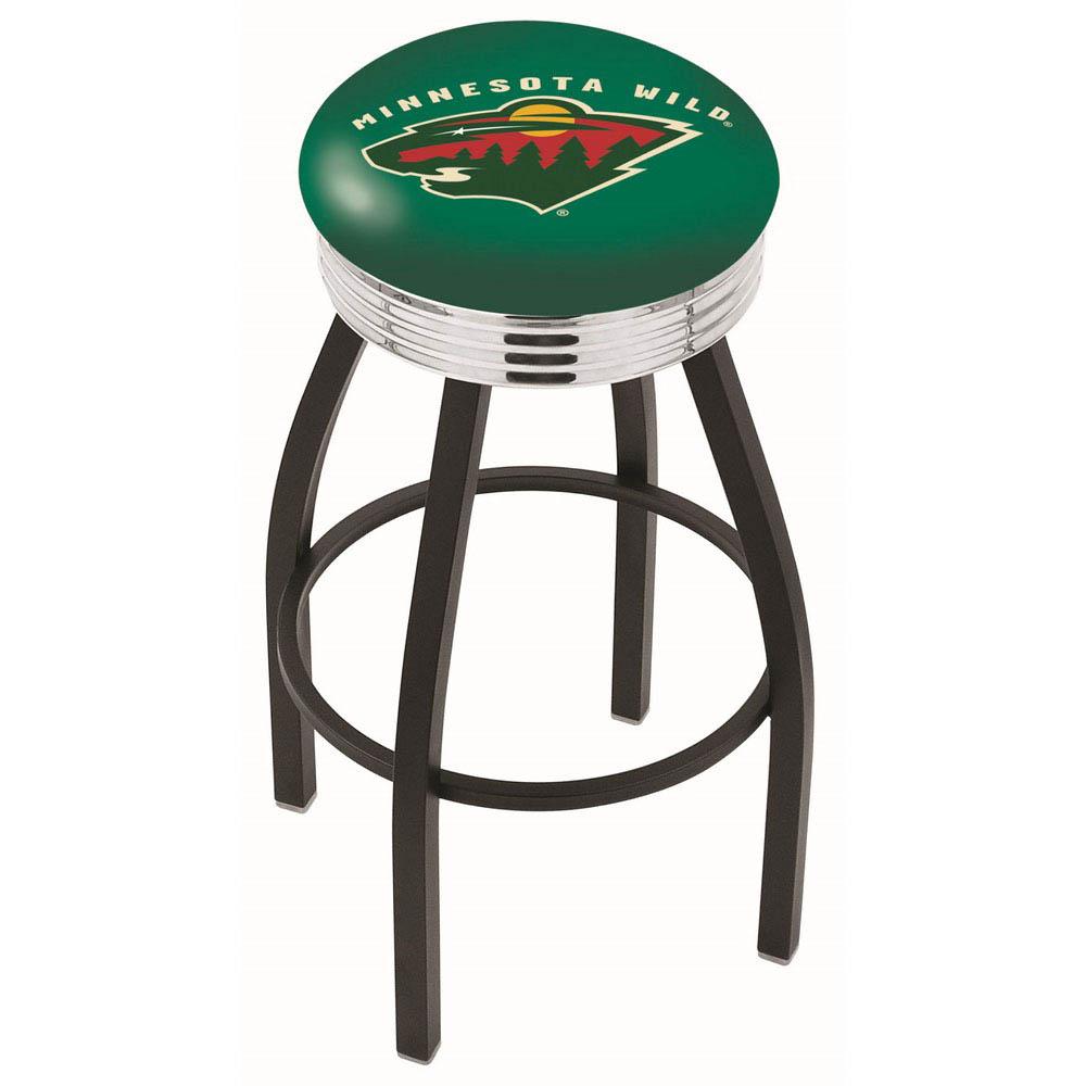 Minnesota Wild Bar Stool-l8b3c - L8b3c25minwld - Chairs Table Nhl Stool L8B3C25MINWLD
