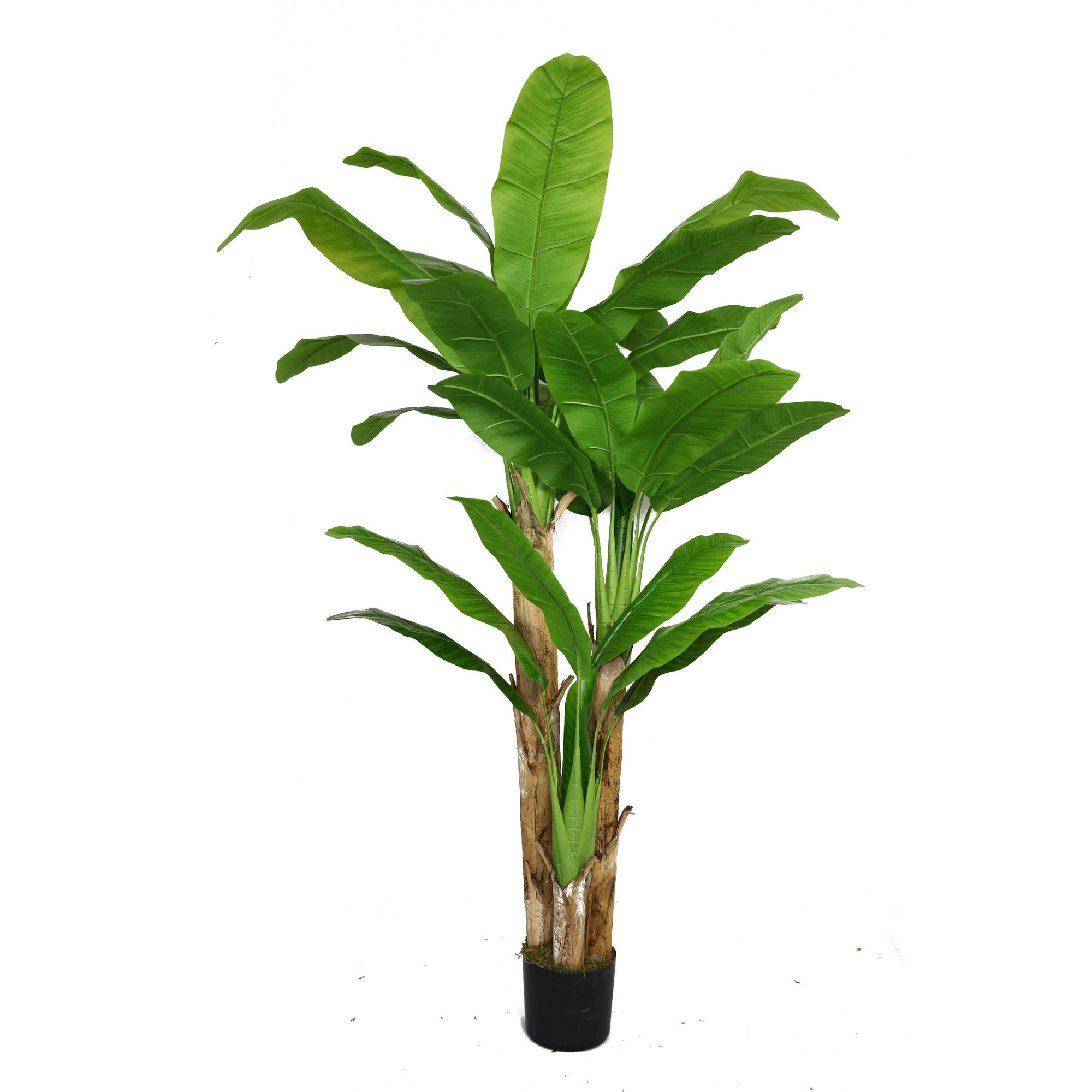 Artificial Banana Tree Real Touch Leaves