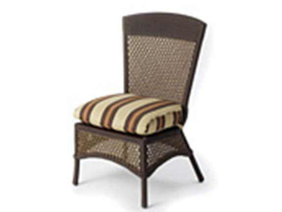 Lloyd Flanders Grand Traverse Armless Dining Chair Seat Replacement Cushion