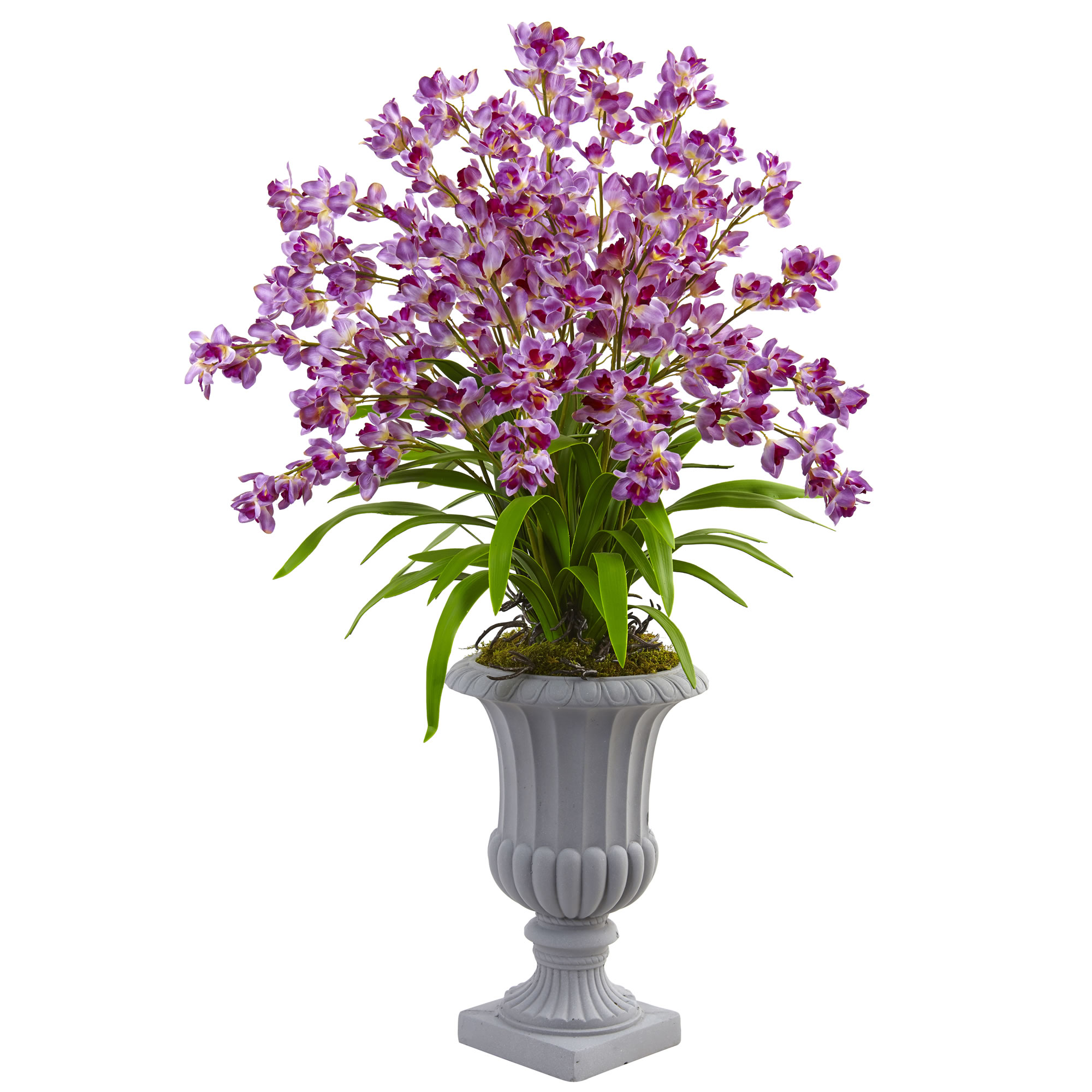 Reliable Purple-Giant-Blooming-Orchid-Arrangement-Urn Product Image 2476