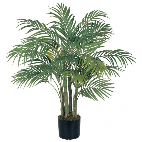 3 foot artificial areca palm tree: potted | 5000 3 Ft Artificial Plants