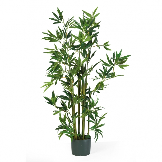 4 foot artificial bamboo tree plant potted 5040
