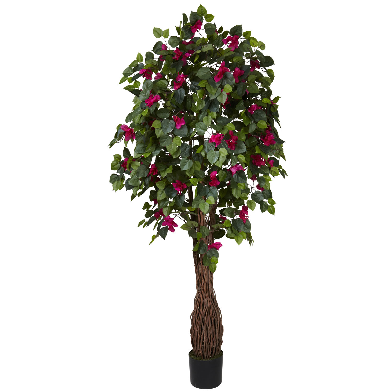 Artificial cherry blossom tree fake cherry blossom tree 6 foot multi vine bougainvillea tree potted dhlflorist Gallery