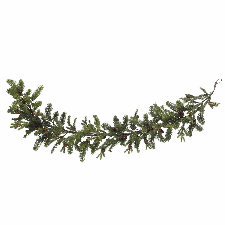 60 Inch Pine And Pinecone Garland 4918