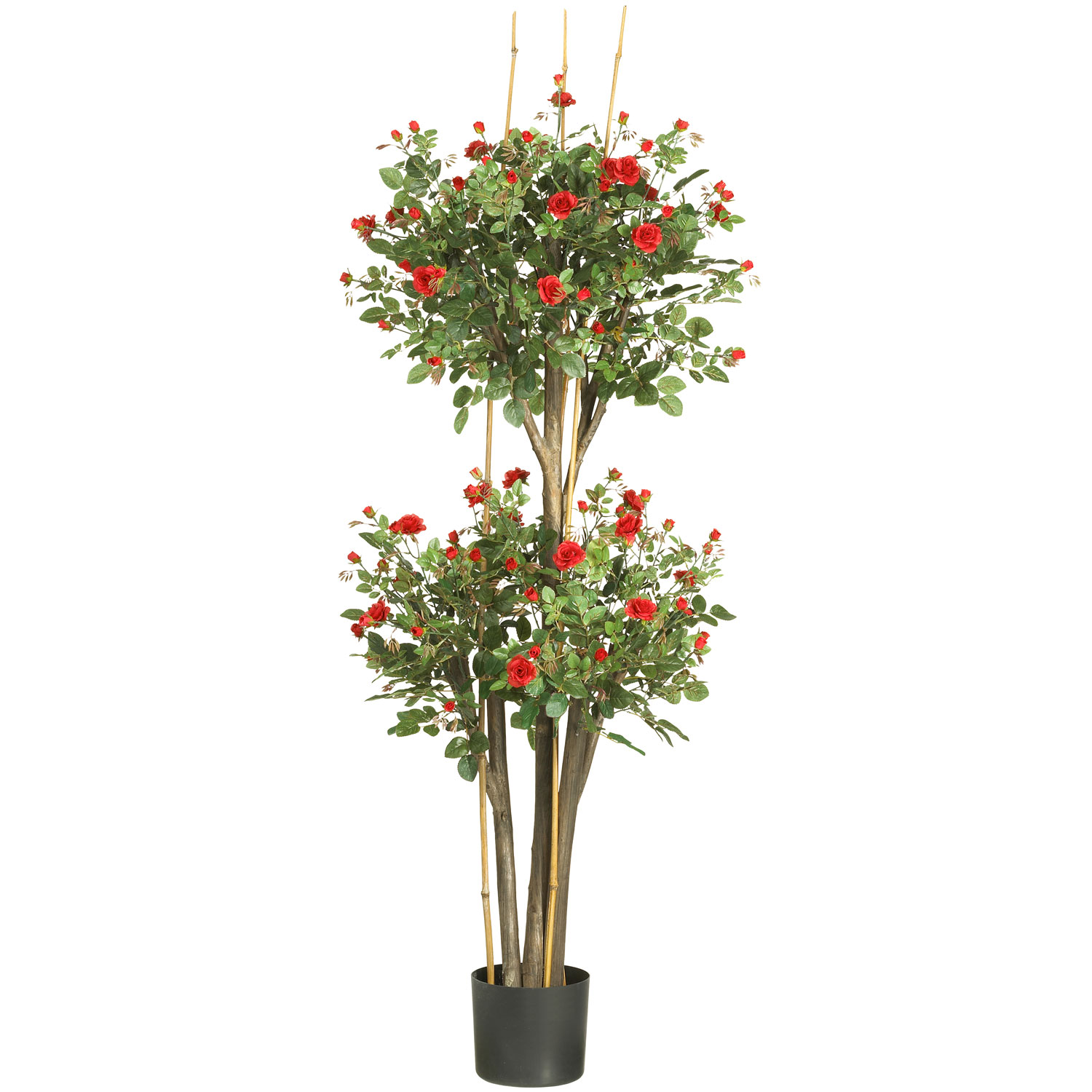 Artificial cherry blossom tree fake cherry blossom tree 5 foot mini rose tree potted dhlflorist Gallery