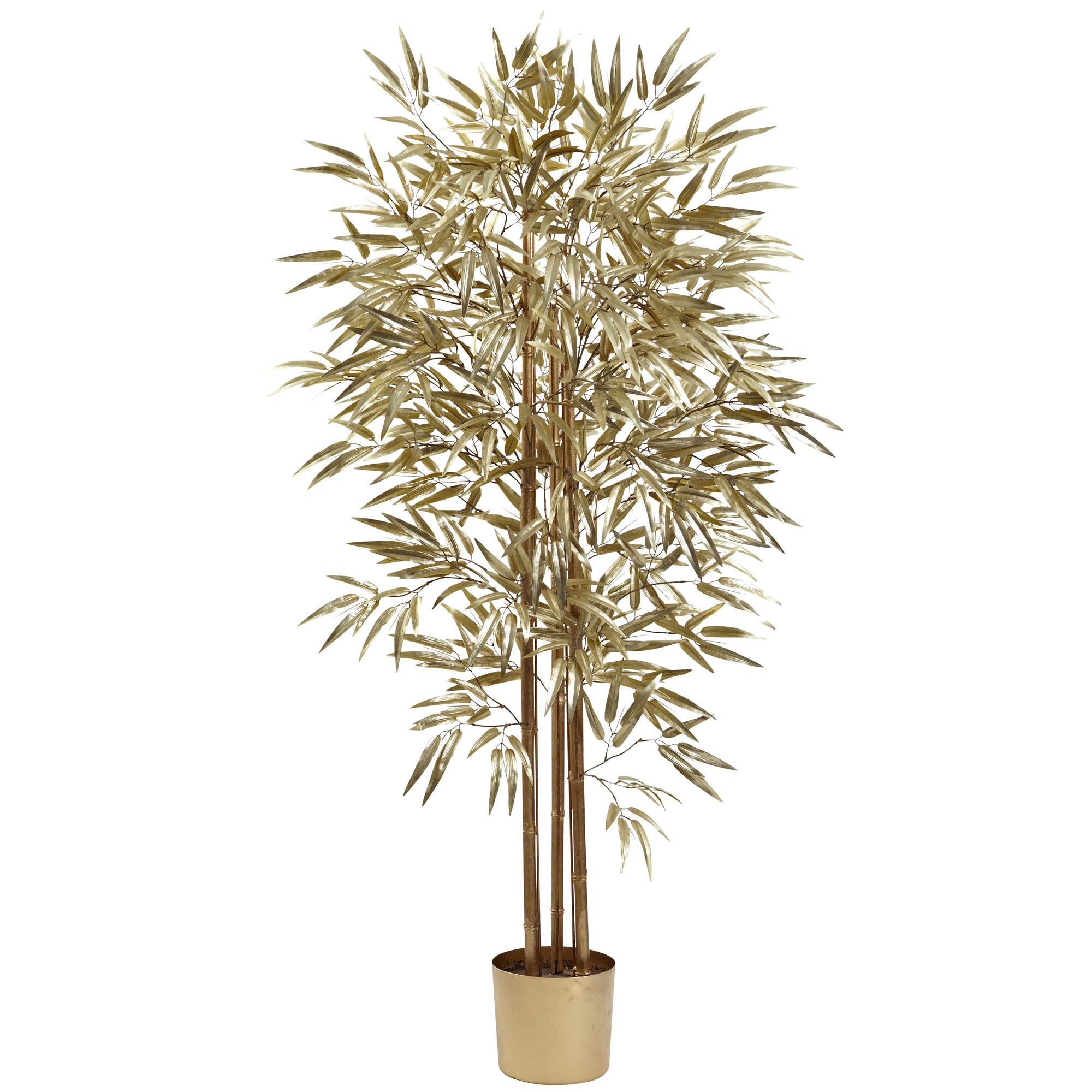 Bamboo | Indoor | Golden | Foot | Silk | Tree
