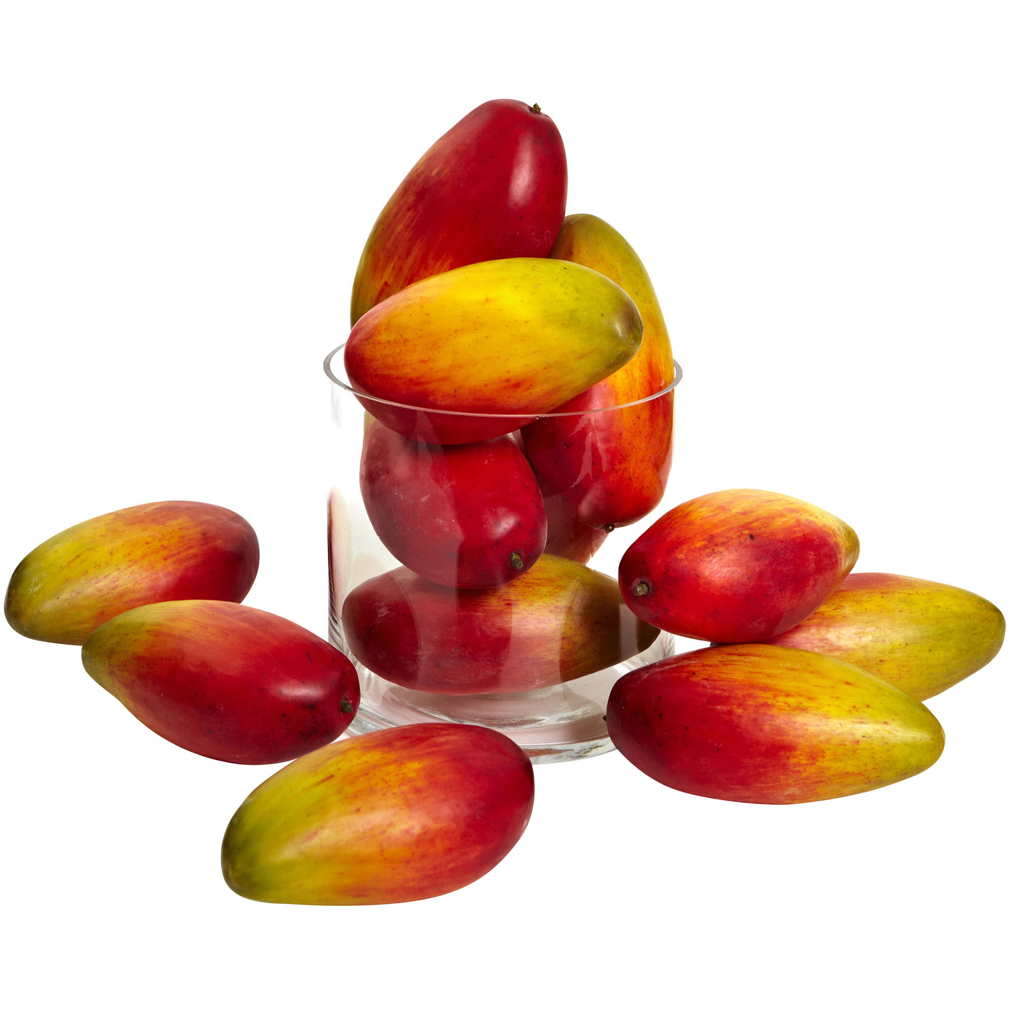 1 Dozen 5.5 Inch Realistic Weighted Faux Mangos