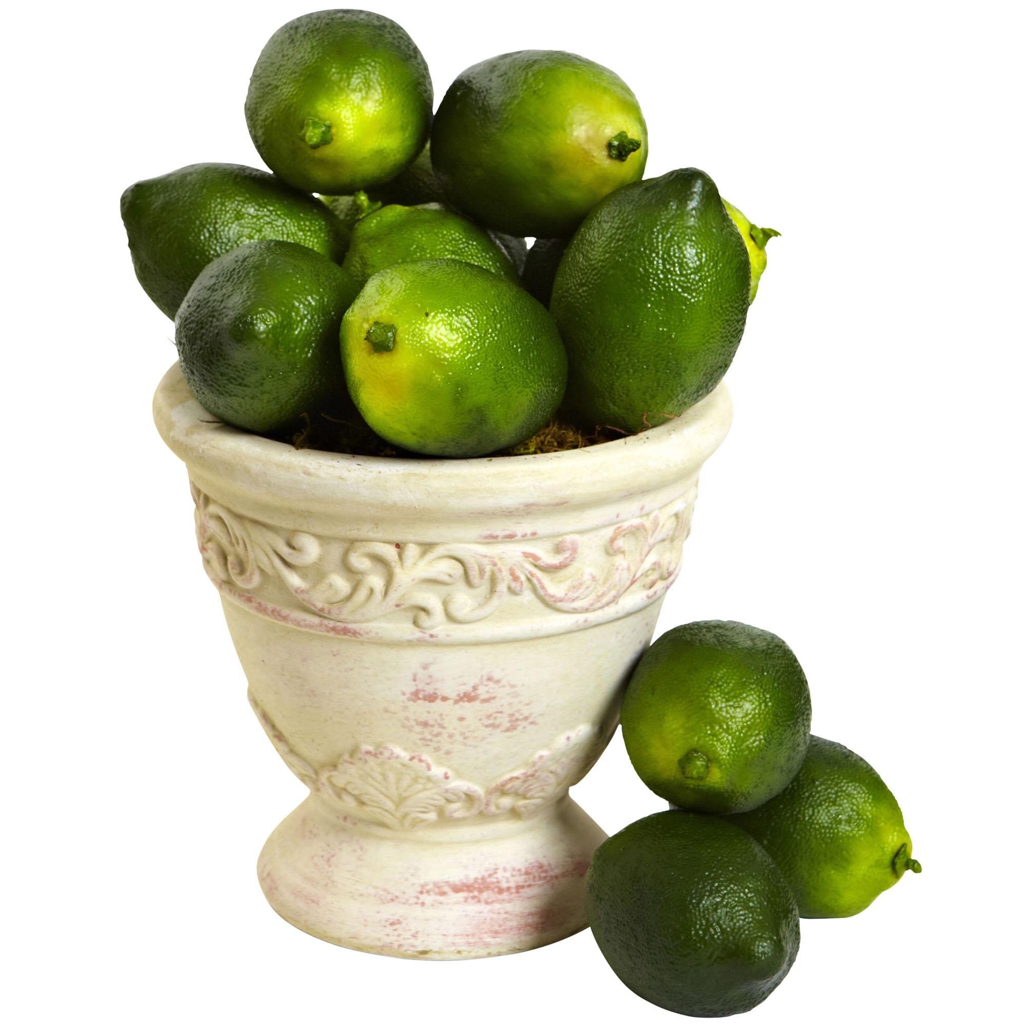 1 Dozen 3 Inch Faux Limes (set Of 12)