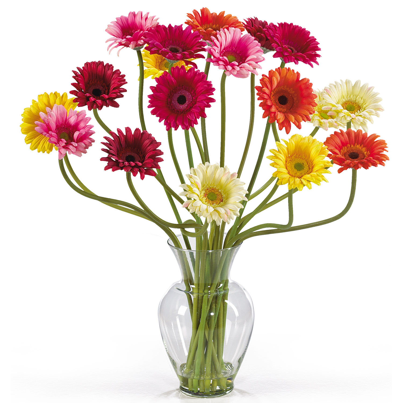 Gerber daisy arrangement in acrylic water 1086 reviewsmspy