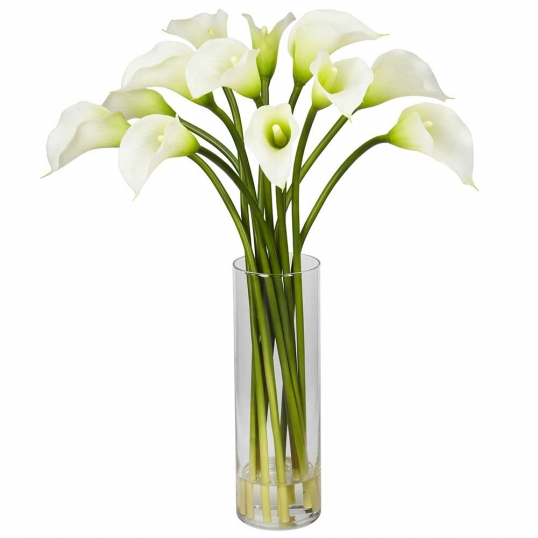 Mini Calla Lily Arrangement In Vase 1187